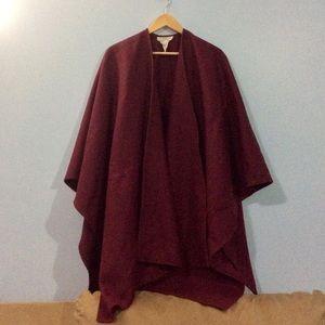 Burgundy Wool Sweater